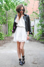 White-lace-crop-top-sugarlips-apparel-dress-black-leather-twik-jacket