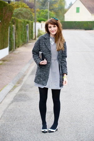PERSUNMALL dress - H&M coat - PERSUNMALL flats