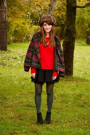 H&M coat - Pimkie sweater