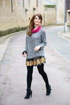 Sheinside skirt - Forever 21 sweater