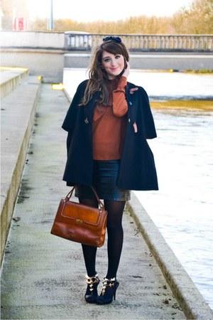 Sheinside coat - asos skirt - Modress heels
