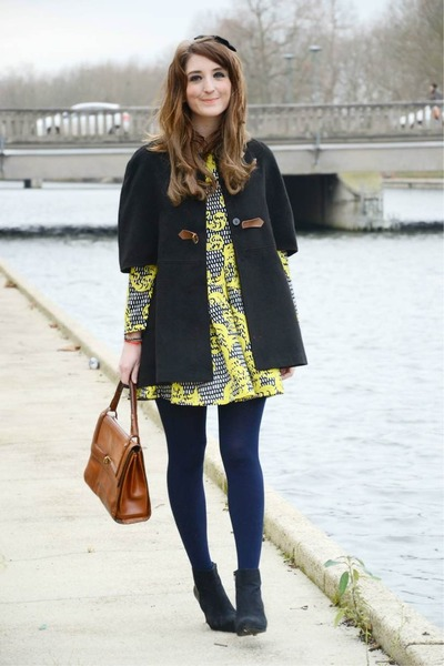 Choies dress - Sheinside coat