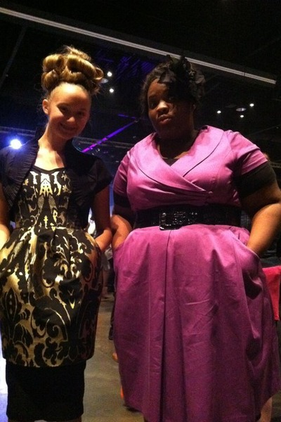 486d8922a91b1 magenta dress barn dress - black Charlotte Russe accessories - black  Forever 21