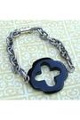 Black-handmade-bracelet