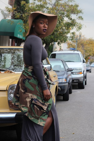 biker boots Mossimo boots - maxi dress Forever 21 dress