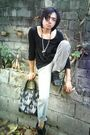 Black-top-peace-angel-pants-black-shoes-vivienne-westwood-accessories