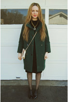 teal gifted She Inside coat - black Alexander Wang shoes