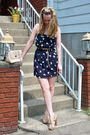 Blue-nasty-gal-dress-beige-steve-madden-shoes-beige-forever-21-belt-beige-