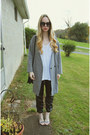 Heather-gray-front-row-shop-jacket-white-urban-outfitters-t-shirt