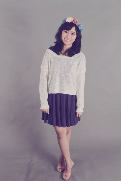 unbranded accessories - Gaudi dress - cotton Forever 21 sweater
