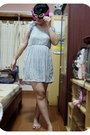Silver-number-61-dress