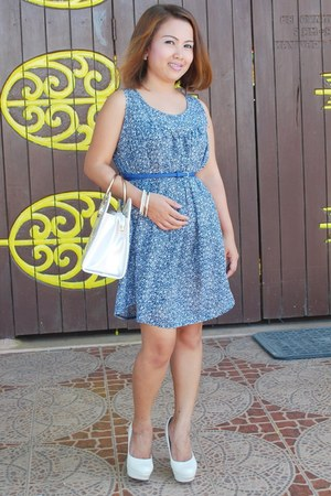 bag - shoes - dress - earrings - bracelet