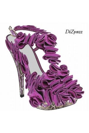 purple DiZynzz shoes