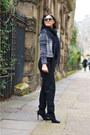 H-m-blazer-charcoal-gray-topshop-sunglasses-black-deichmann-heels