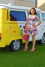 Sheinside-dress-primark-hair-accessory-bubble-gum-sheinside-heels