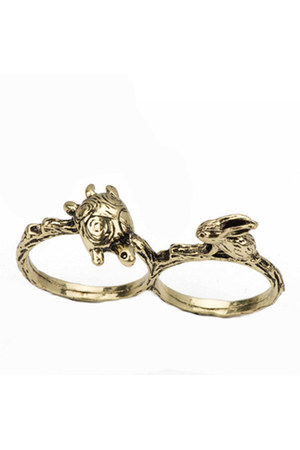 Diamond Petal ring