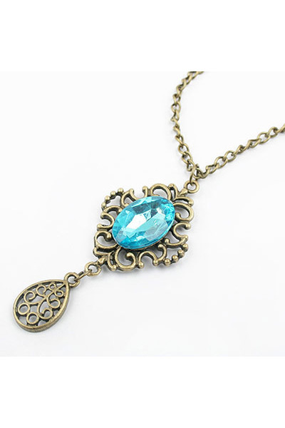 Diamond Petal necklace