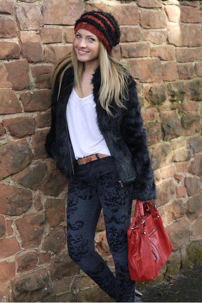 faux fur Pepe Jeans coat