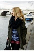 khaki asoscom coat