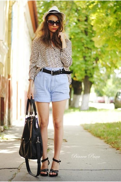 mac jeans - Calliope bag - H&M Trend blouse