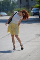 nissa skirt - Accessorize bag - new look necklace - Benvenuti sandals