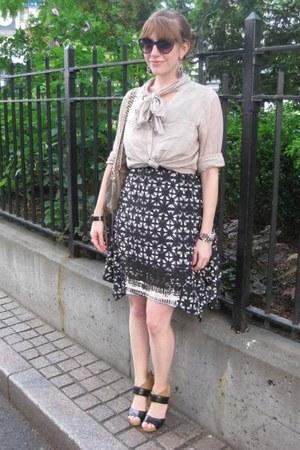 Urban Outfitters dress - H&M shirt - Rebecca Minkoff bag - Nine West heels
