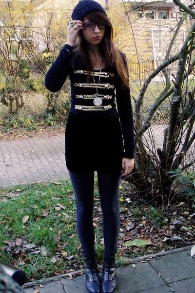 black DIY jacket