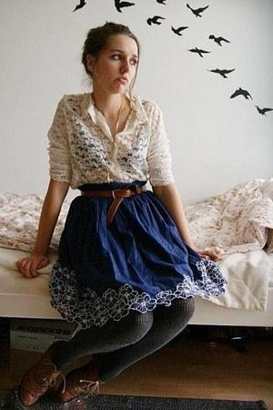 lace vintage blouse