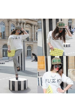 fck chanel Sheinside hoodie - new era cap Kenzo hat