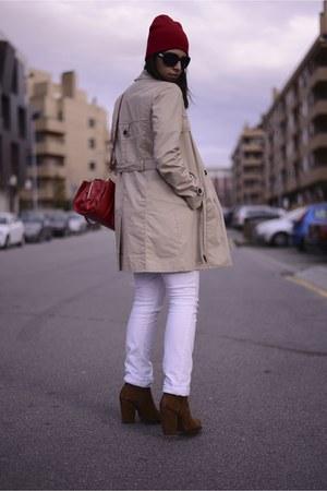 Zara boots - Zara coat - Zara jeans - Zara bag