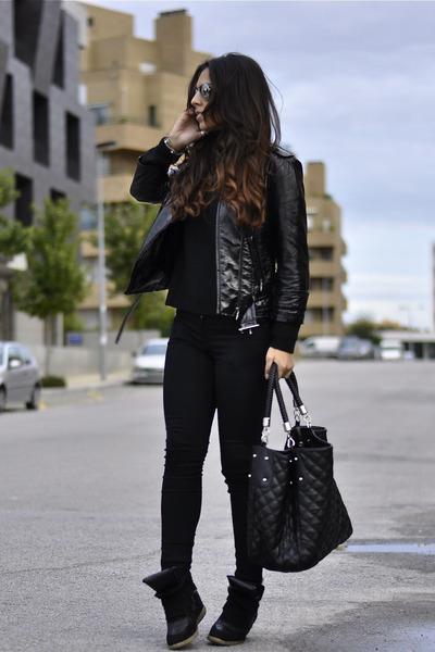 Zara jeans - Mango jacket