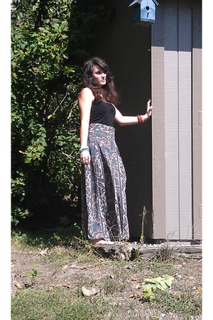 huge wide leg vintage pants - Tank top shirt