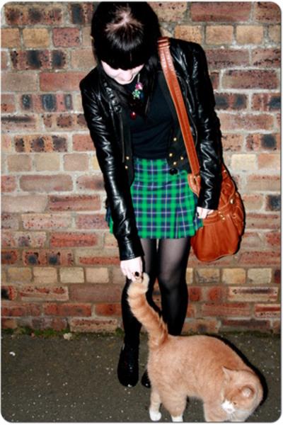 new look jacket - Peacocks - top - H&M skirt - Primark shoes