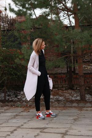 sportmax pants - nike sneakers - bought in paris cardigan