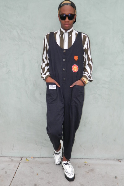 Paul Smith shirt - TUK shoes - obey hat - DisciplesOf jumper