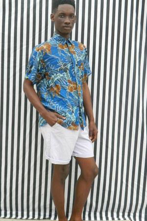 silk floral DisciplesOf shirt