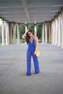 Blue-jumpsuit-windsor-store-jumper-gold-platform-nasty-gal-heels