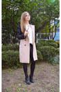 Korean-brand-coat-pleather-korean-brand-leggings-necklace-accessories