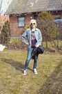 Gray-vintage-shirt-blue-drdenim-jeans-black-all-star-shoes-hm-divided-t-sh