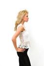 White Lace DivaNYcom Blouses