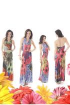 maxi floral DivaNy dress