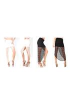 black lace skirt - ivory lace skirt