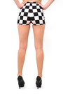 Peach Checkers DivaNYcom Shorts