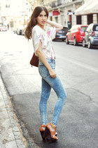top - shoes - jeans