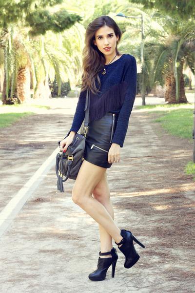 skirt - heels - top