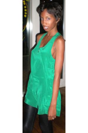 Forever 21 blouse - Express leggings