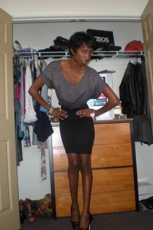 Forever21 shirt - Forever 21 skirt - Bakers shoes