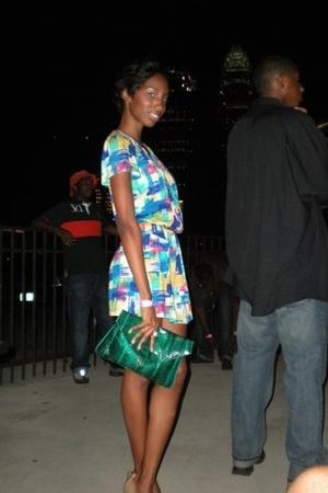 Forever21 dress - vintage purse