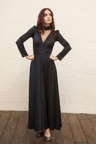 black DollsMaison dress - charcoal gray DollsMaison heels
