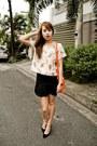 Orange-chloe-bag-black-mango-heels-black-ihana-skirt